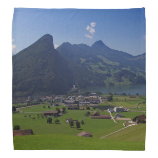 Panoramic view of Spiez Bandana
