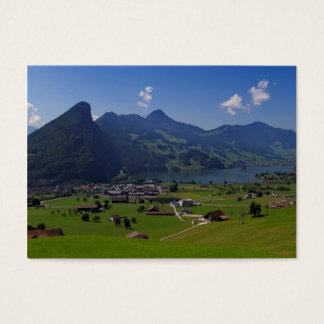 Panoramic view of Spiez Business Card
