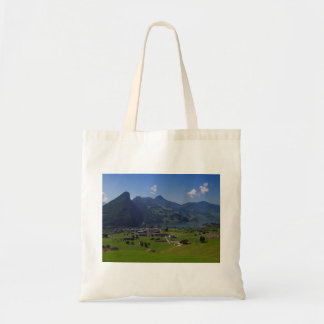 Panoramic view of Spiez Tote Bag