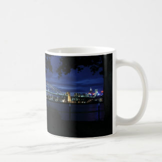 Panoramic View of Sydney Harbour Classic White Coffee Mug