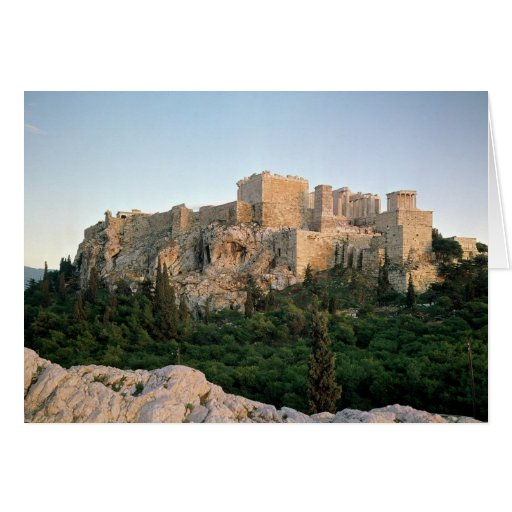 Panoramic view of the Acropolis Greeting Cards