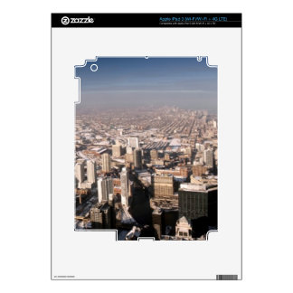 Panoramic view of the city iPad 3 decal
