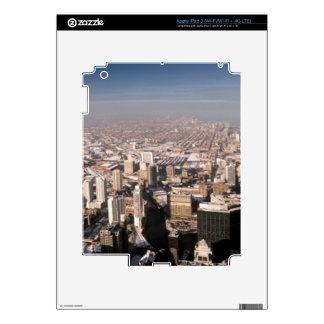 Panoramic view of the city iPad 3 skin