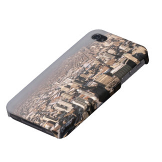 Panoramic view of the city iPhone 4/4S cases