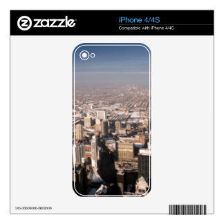 Panoramic view of the city skin for iPhone 4S
