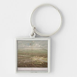 Panoramic view of the Exposition Universelle Keychain