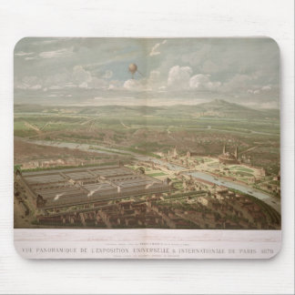 Panoramic view of the Exposition Universelle Mouse Pad