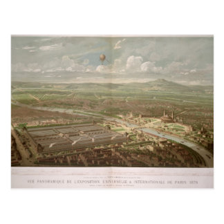 Panoramic view of the Exposition Universelle Postcard