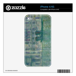 Panoramic View of the Ile-de-France, c. 1830 Decals For iPhone 4S