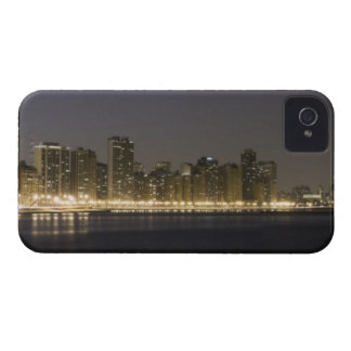 Panoramic view of the north side of Chicago at iPhone 4 Cover