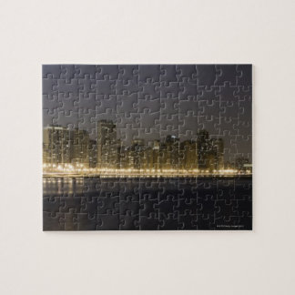 Panoramic view of the north side of Chicago at Jigsaw Puzzle