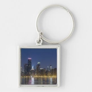 Panoramic view of the northern section of the Silver-Colored square keychain