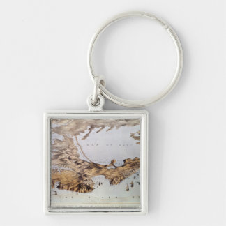 Panoramic view of the Sea of Azof Keychain