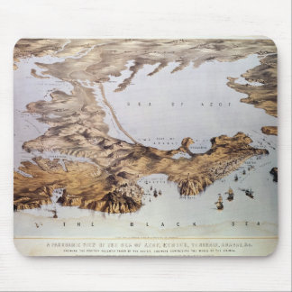 Panoramic view of the Sea of Azof Mouse Pad