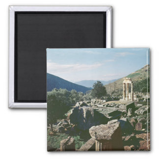 Panoramic view of the site with the tholos temple 2 inch square magnet
