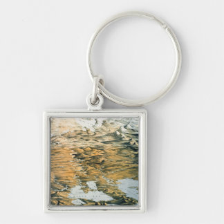 Panoramic view of the Whole Empire of Russia Silver-Colored Square Keychain