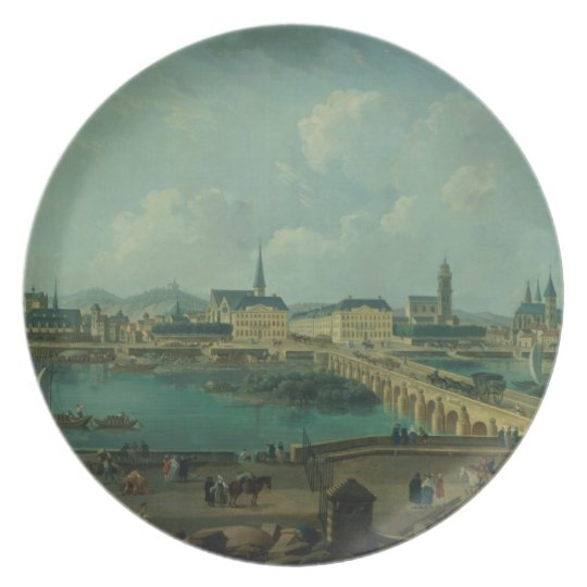 Panoramic View of Tours, 1787 (oil on canvas) Plate