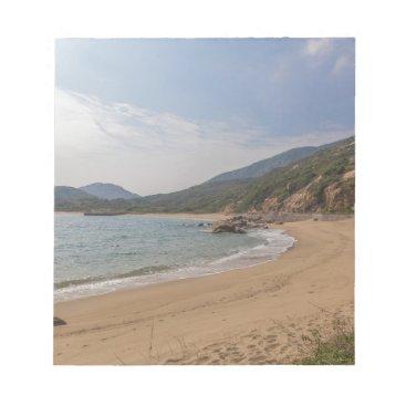 Panoramic view of Tung O Village Lamma Island Notepad