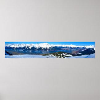 Panoramic View of Turnagain Arm Poster