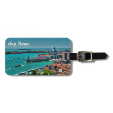 Panoramic View of Venice, Italy Luggage Tag