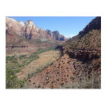 Panoramic View of Zion Canyon from The Watchman Postcards