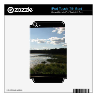 Panoramic view skin for iPod touch 4G