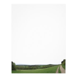 Panoramic View Stationery Letterhead Design