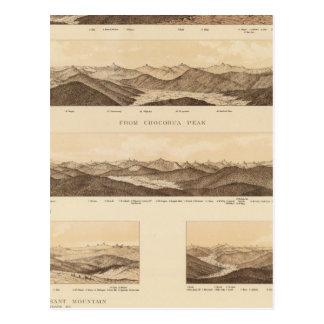 Panoramic Views of Mount Carrigain Postcard