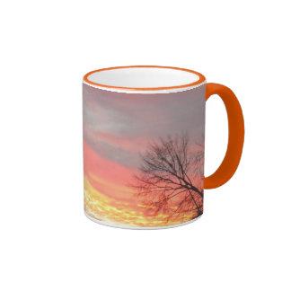 Panoramic Winter Sunset/Sunrise Mug