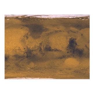 Panorámico de Marte Tarjeta Postal