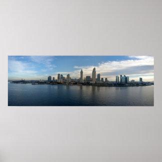 Panorámico del poster de San Diego