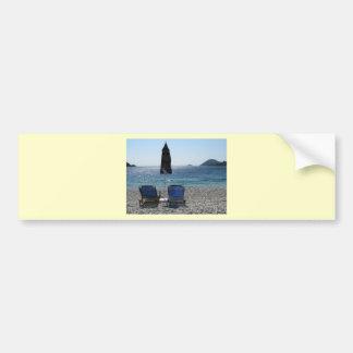 Panormos Beach Skopelos Bumper Sticker