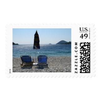 Panormos Beach Skopelos Postage