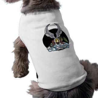 Paños del mascota del alcohol de la tormenta camisas de perritos