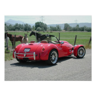 Panoz AIV Roadster Poster