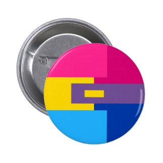 Panromantic Bisexual Pin