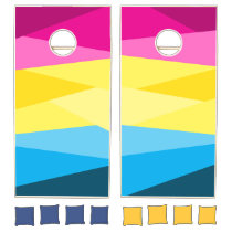 Pans Color Stacks Cornhole Cornhole Set