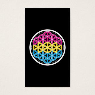 panSacred geometry Business Card