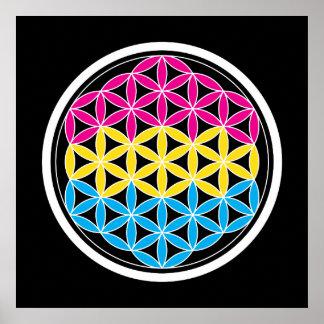 panSacred geometry Poster
