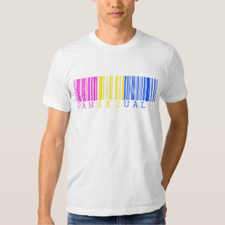 Pansexual Barcode T Shirt