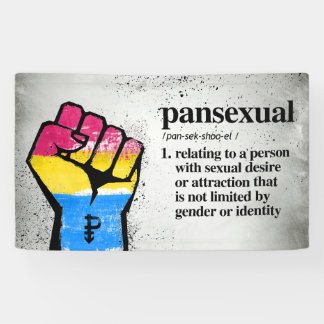 Pansexual Definition - Defined LGBTQ Terms - Banner