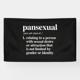 pansexual definition - defined lgbtq terms - LGBT  Banner