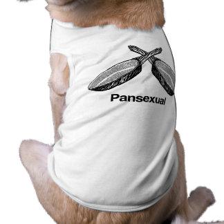 Pansexual - doggie tee shirt