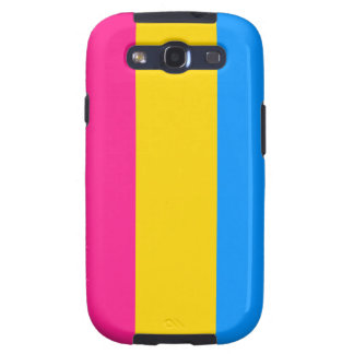Pansexual flag Android case Samsung Galaxy S3 Covers