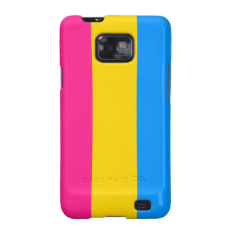 Pansexual flag Android case Galaxy SII Cases