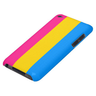 Pansexual flag case iPod touch cases