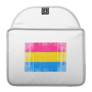 PANSEXUAL FLAG DISTRESSED SLEEVE FOR MacBook PRO