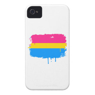 PANSEXUAL FLAG DRIPPING iPhone 4 CASE