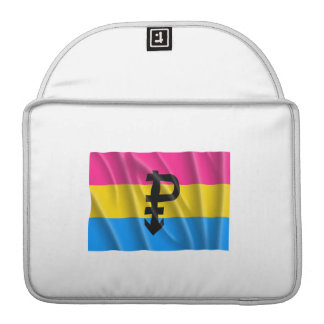 PANSEXUAL FLAG FLYING SLEEVE FOR MacBook PRO