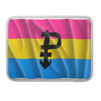 PANSEXUAL FLAG FLYING -.png MacBook Pro Sleeve